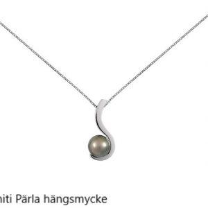 Tahiti pärla hängsmycke i vitguld Stockholm Guldsmed