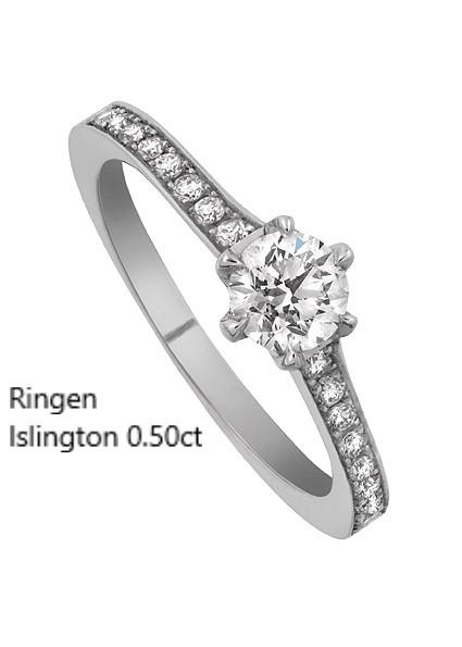 Ringen Islington Enstensring Vigselring Förlovningsring Stockholm Guldsmed