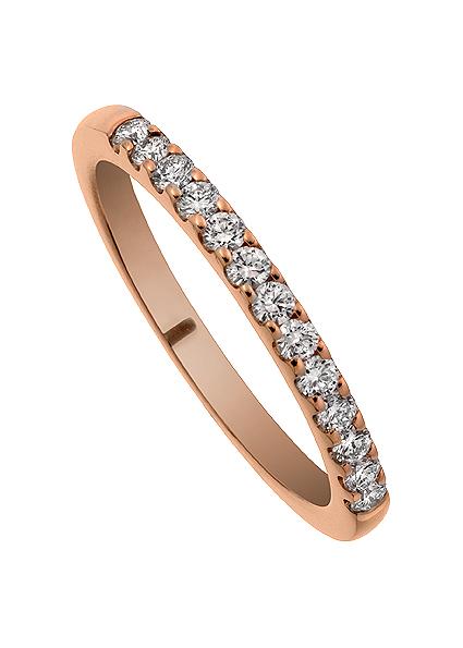 Ringen Soho. Diamant Alliansring Förlovningsring Vigselring.