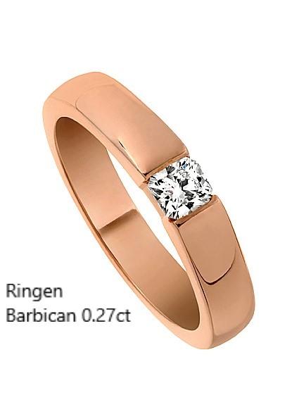 Ringen Barbican Engagement ring Enstensring Flanders diamant